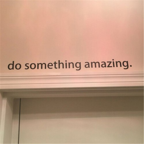 Something Amazing: TraveT Do Something Amazing Living Room Bedroom Wall Decal