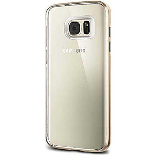 Spigen Neo Hybrid Crystal Galaxy S7 Edge Case with Flexible Inner Casing and Reinforced Hard Bumper Frame for Samsung Galaxy S7 Edge 2016 - Champagne Gold Sales