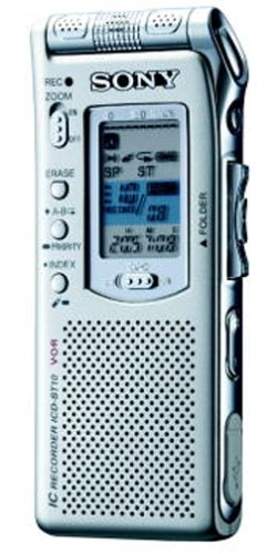 Sony ICD-ST10 Digital Voice Recorder with Voice-To-Print Compatibility (Voice Recorder To Text Software)