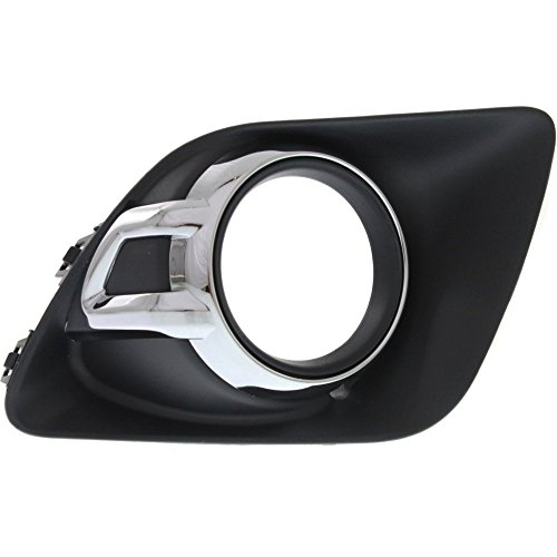Fog Light Molding compatible with Mitsubishi Outlander Sport/RVR 11-12 Right Side Garnish -