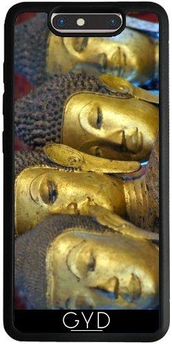 Funda Silicona para ZTE Blade V8 - Estatuas Luang Prabang Templo by Brian Raggatt