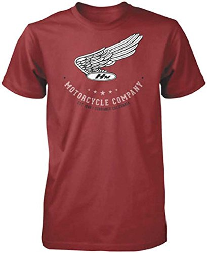 Honda Men's Vintage Motor Co Short-Sleeve - Honda Shirts Motorcycle