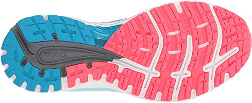 Brooks Women's Adrenaline GTS 18 Blue/Mint/Pink 5.5 B US B (M) by Brooks (Image #2)