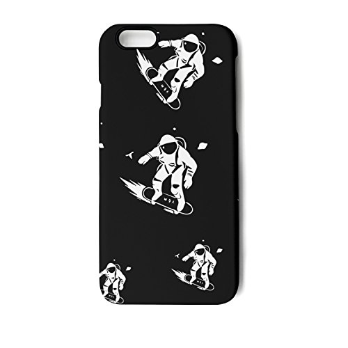 YUEch IPhone Case Astronaut Skateboarder TPU Shock-Absorption & Skid-proof Anti-Scratch Phone Case For Apple IPhone 6/6S/6 Plus/6S Plus/7/7 Plus/8/8 Plus