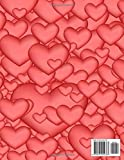 Notebook: Nifty Lovely Pink Hearts Pattern - Large