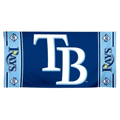 (MLB Tampa Bay Devil Rays 30 by 60 Fiber Reactive Beach Towel)