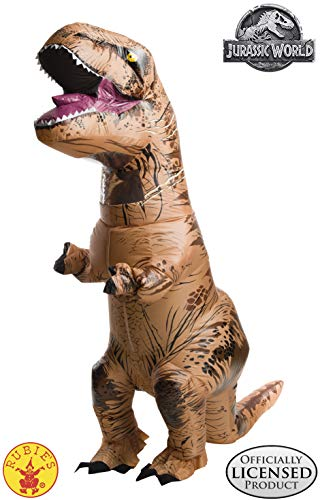 Cool Dragon Costumes (Rubie's Adult Official Jurassic World Inflatable Dinosaur Costume, T-Rex,)