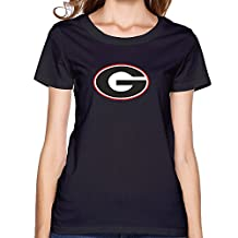 ZOENA Women's Tshirt - University Of Georgia UGA Black XXL