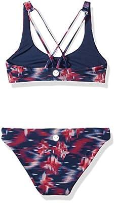 Roxy Big Girls' Tropi Sporty Tri Swimsuit Set