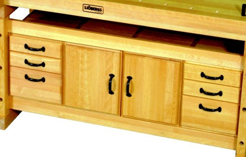 Sjobergs Elite 55 in. x 16 in. Storage Module with 6-Drawers and 2-Doors