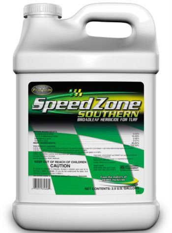 Speed Zone Southern Herbicide 2.5 Gals Broadleaf Herbicide Not For Sale To: CA; AR; AK; CO; CT; DC; IL; IN; IA; LA; MA; ME; MI; MN; MT; NE; ND; NM; - Outlets Mn