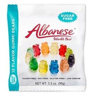 Albanese Sugar Free Gummi Bears - 3 35-oz Bags