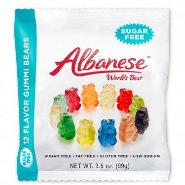 Albanese Sugar Free Gummi Bears - 3 3.5-oz Bags by ALBANESE