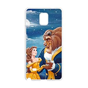 Samsung Galaxy Note 4 Cell Phone Case White Disneys Beauty and the Beast as a gift O6740023
