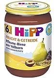 Hipp Frucht & Getreide, Pflaume-Birne mit Vollkorn, 6er Pack (6 x 190g)