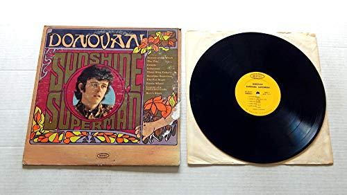 Price comparison product image Donovan SUNSHINE SUPERMAN - Epic Records 1966 - USED Vinyl LP Record - 1966 MONO Pressing LN 24217 - Season Of The Witch - The Fat Angel - Bert's Blues - Celeste - The Trip