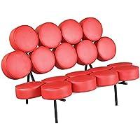 Fine Mod Circle Sofa, Red