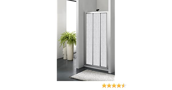 Box ducha un lado hueco 3 puertas correderas bilaterale Cristal Zenith: Amazon.es: Bricolaje y herramientas