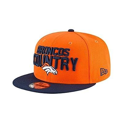 New Era Denver Broncos 2018 NFL Draft Spotlight Snapback 9Fifty Adjustable Hat from New Era