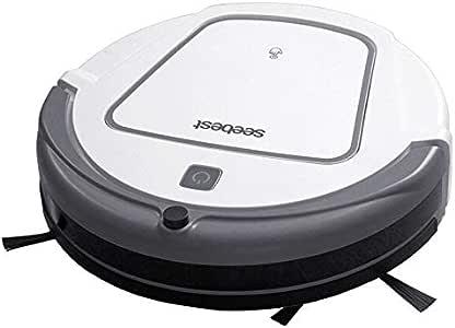 Seebest I300W aspiradora Robot Inteligente WiFi, Robot de Limpieza de Relleno automático, Barrer Piso Duro Alfombra Pelo de Mascota: Amazon.es: Hogar