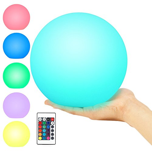 Rechargeable Floating Led Swimming Pool Light - 8