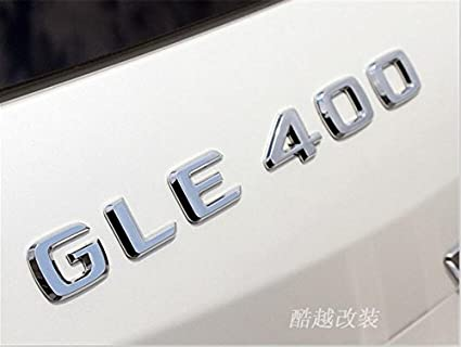 Amazon Com E668 Gle400 E400 Emblem Badge Auto Emblems 3d Lettering