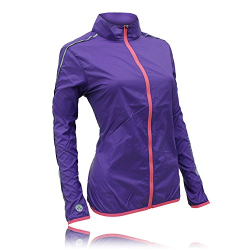 Higher State Women's Lightweight Running Jacket Pink