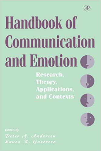 Book Handbook of Communication and Emotion: Research, Theory, Applications, and Contexts (1997-10-01)
