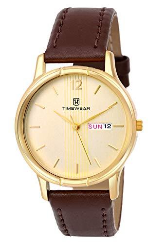 TIMEWEAR Analog Men's Watch  Brown Colored Strap