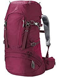 Jack Wolfskin Acs Hike 30 Women Pack Rucksack, Dark Ruby