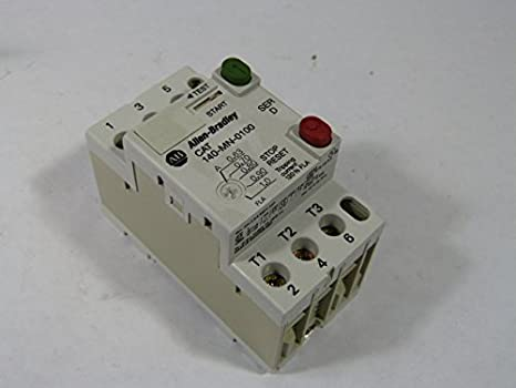 ALLEN BRADLEY 140-MN-0100 Discontinued by Manufacturer, Manual