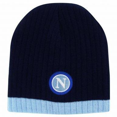 Napoli SSC Crest Beanie Hat