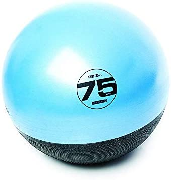 Escape Fitness USA ESTGB75 Inflatable Anti Burst Blue Exercise Ball