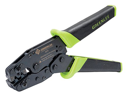 Crimper Series 1600 (Greenlee PA1670 CRIMPER 1600 SERIES EDAC ELCO CLAMSHELL)