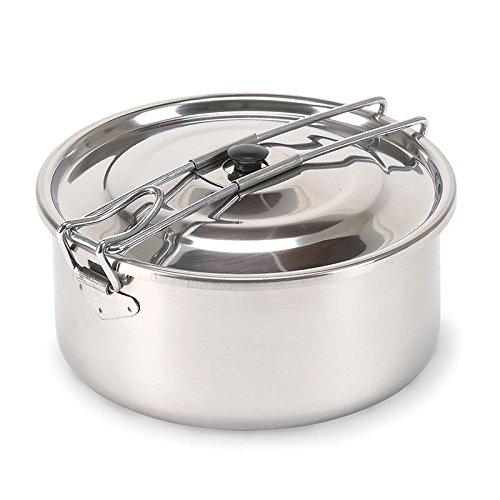 SOLO I STAINLESS STEEL COOK POT, Case of 24