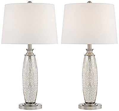 Carol Mercury Glass Table Lamp Set of 2