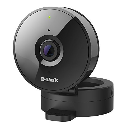 D-Link HD Wi-Fi Camera – Indoor – Night Vision – Remote Access – Works with Google Assistant – Casting – Streaming (DCS-936L) (Certified Refurbished)