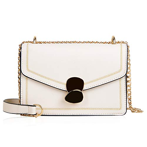 MICKORS Small Crossbody Bags Purse for Women with Chain Strap Fashion Shoulder Handbags