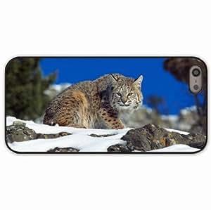 Case For Sony Xperia Z2 D6502 D6503 D6543 L50t L50u Cover Black Hardshell Case snow sky rocks lynx danger Desin Images Protector Back Cover