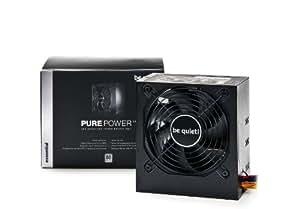 be quiet! Pure Power L7 530W 530W ATX Negro unidad de - Fuente de alimentación (530 W, 100 - 240 V, 580 W, 50 - 60 Hz, 7 - 3.5, +12V1,+12V2,+3.3V,+5V,+5Vsb,12V)