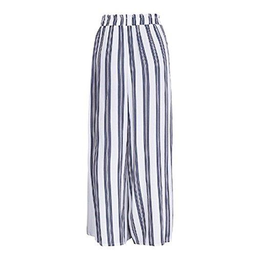 Pantalons Loose Large Evas Fit Jambe lgant Leggings Casual Ray pour avec Pantalon Femme S Haute Ceinture Blanc Pantalon 2XL Taille Mode gqAOd7awq