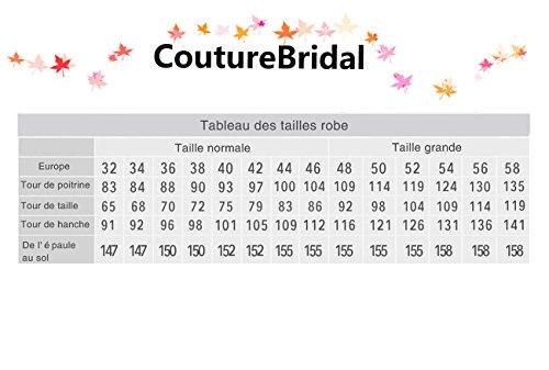 Trägerlos Rot Brautjungferkleid CoutureBridal® Herzform Lange Chiffon Kristall Abendkleider XPgPw