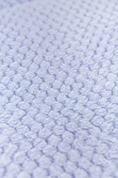 Honeycomb Rocking Cradle Quilt and Bumper Set - Blue