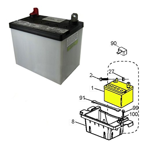 Husqvarna OEM Lawn Mower 30 AMP Battery 532163465 532123899