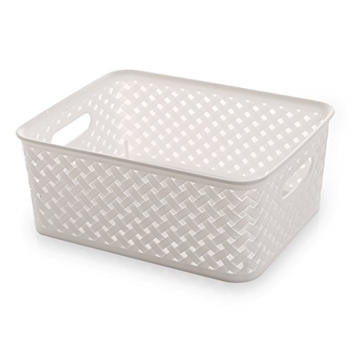 small plastic basket with handle - 9