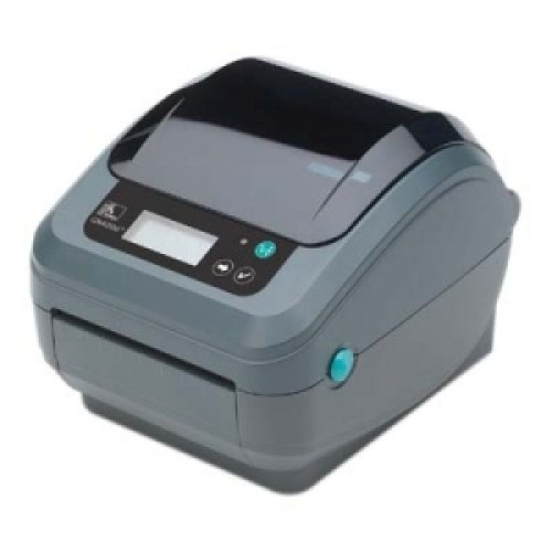 ZEBRA TECHNOLOGIES GX42-102711-000 / GX420t Direct Thermal/Thermal Transfer Printer - Monochrome - Desktop - Label Print /6 in/s Mono - 203 dpi - Wireless LAN - USB - LCD
