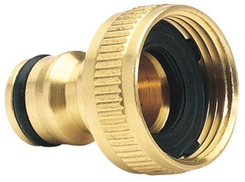Draper Expert 68430 3/4-Inch BSP Garden Hose Tap Connector Draper Tools 5010559684304 Brassware Other Brassware