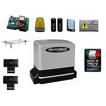 Kit Automatisme Portail Coulissant 600 Kg Compatible Beninca Cardin