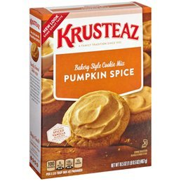 Krusteaz Pumpkin Spice Cookie Mix 16.5 oz (Pack of 4)