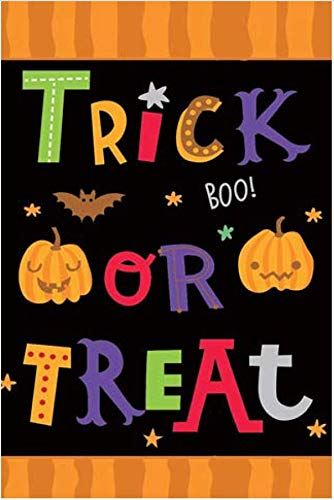 GiftWrap Etc. Trick or Treat Halloween Garden Flag - 12